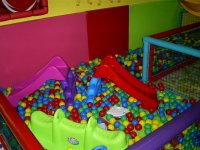 Babies zone with mini slides