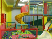 Colorful games zone