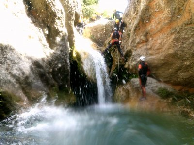 Canyoning Down in Canaletes Kids Fee