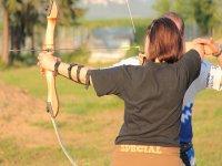 leccion de tiro con arco