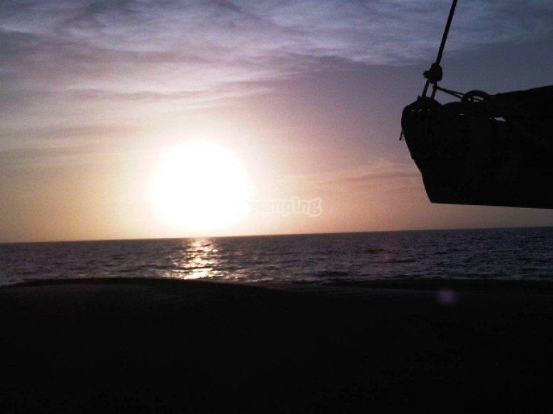 黄昏在马洛卡