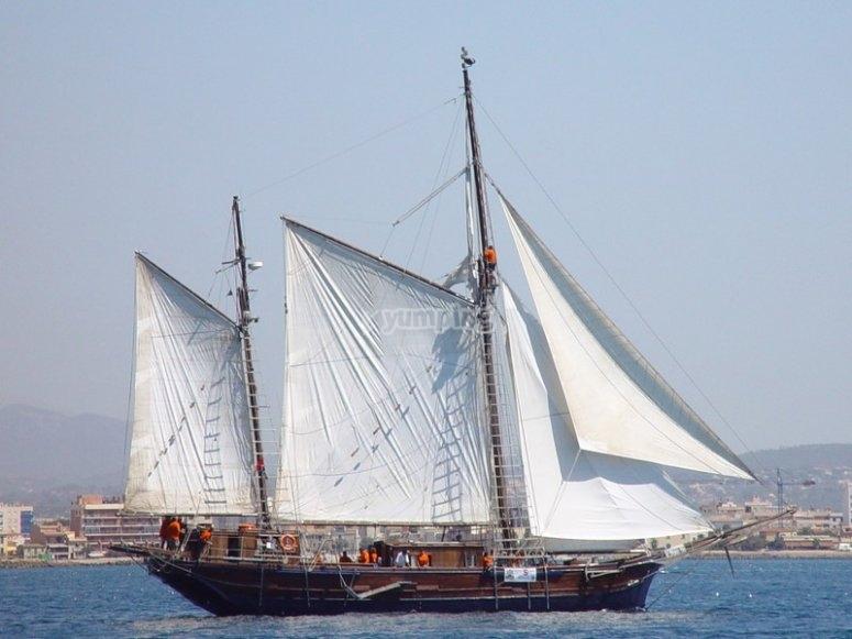 帆船的时间