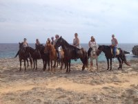 Excursión a caballo en la playa