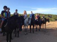 Equestrian route in Ciutadella