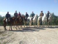 骑马通过安达卢西亚