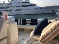 El lounge en la cubierta