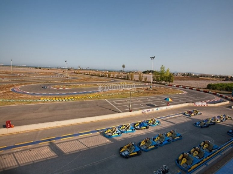 Our race circuit