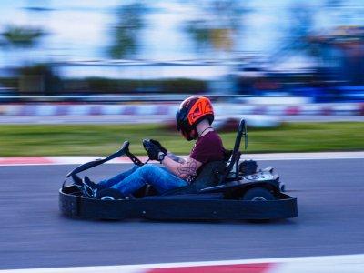 Karting categoría F-200, San Javier. 8 minutos