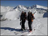 Rutas de esqui