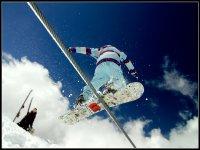 Snowboard en el Veleta
