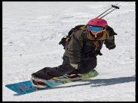 Practica el snowboard en Sierra Nevada