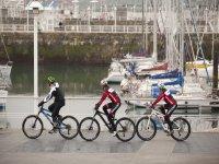 Percorso MTB attraverso il porto delle Asturie