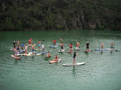 Supaddict Escola Catalana de Paddle Surf Team Building