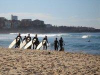 在塔里冲浪营地冲浪课程适合初学者