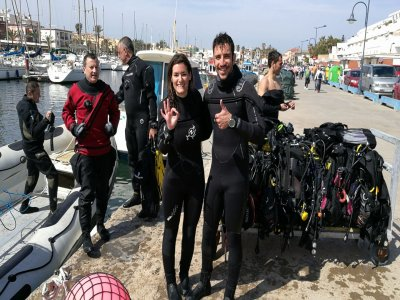 1-star Scuba diving course in Cabo de Palos