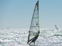 Tarifa的风帆冲浪