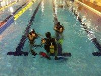 Aprendizaje en piscina