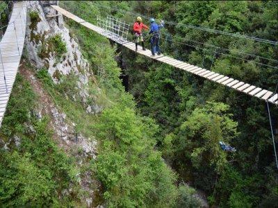 Aventuras en Asturias Puenting