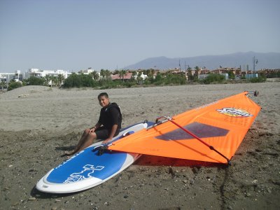 3-hour Windsurfing Baptism in Almeria