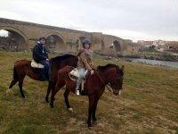 Visita a caballo