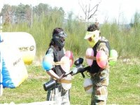 Paintball with balloons