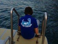 在穆尔西亚洗礼潜水