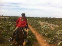Expedicion a caballo por Menorca