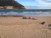 Vistas de la playa