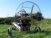 Uno dei nostri trike (paramotori con auto)