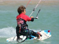 Waterstart惊险刺激的风筝冲浪中我们