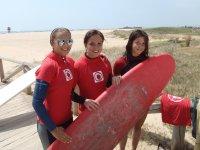 科尼尔的冲浪学生