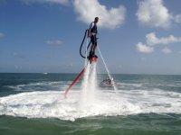 flyboard propulsion