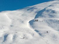 the snowy slope
