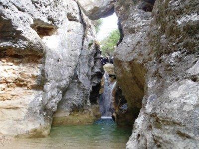Barranco del  Formiga en Sierra de Guara