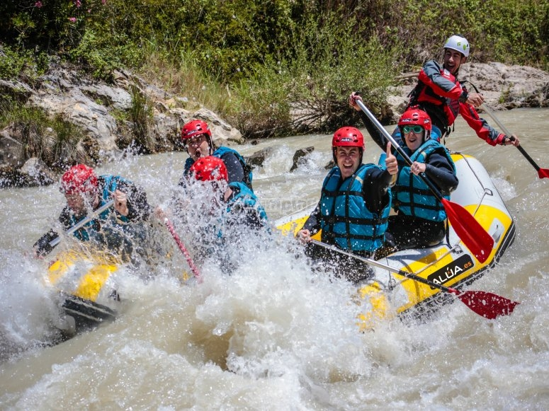 Have fun whilst rafting
