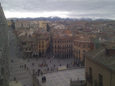 Gymkhana in Segovia: The Killer Within the City