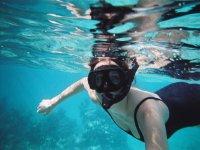 Immersioni sul fondo delle Canarie