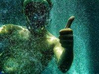 Snorkeling a Corralejo