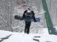 Tambien hay cursos de snowboard