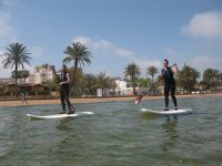 Two participants in sup tables
