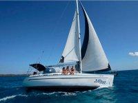 Escursione in barca a vela attraverso Fuerteventura