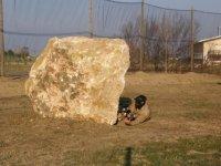 Practice paintball in the Ebro Delta