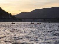 Kayak en Embalse Iznájar