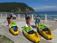 Kayak per pesca e canottaggio