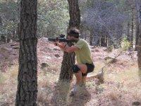 Disparando al enemigo
