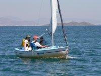 Giving a sailing class