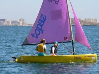 Sailing in Topaz