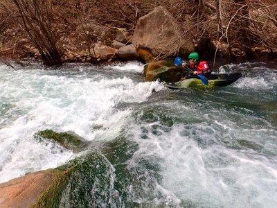Kayak sul fiume Mijares Montanejos con foto