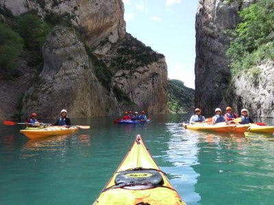 Individual kayak rental in Montsec 1 day