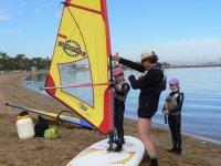 Windsurfing instructions